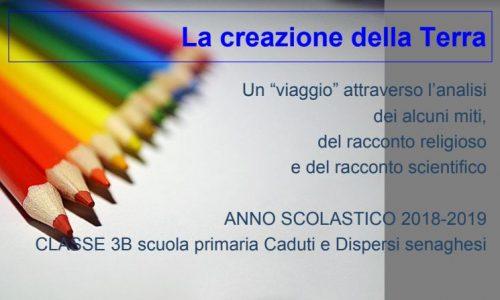 ATTIVITA' CLASSE 3B PRIMARIA CADUTI E DISPERSI SENAGHESI