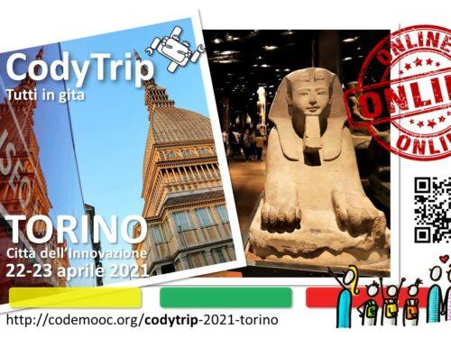 Gita virtuale a Torino per le classi quarte di via Liberazione